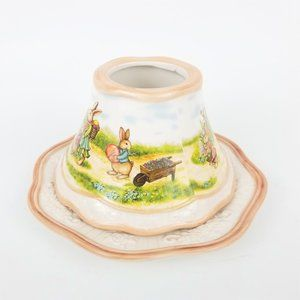 Yankee Candle 2011 Easter Candle Shade and Plate